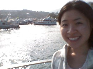 Selfie at the Sai Kung harbour