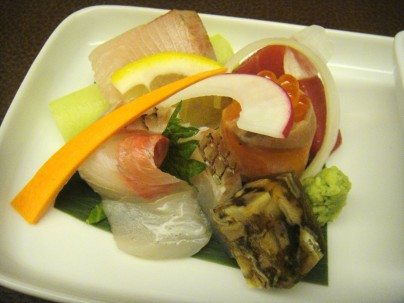 Chef's choice of sashimi