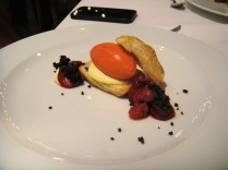 Strawberry Lemon Mille Feuille Poppy Seeds & Puff Pastry The sorbet was so good!