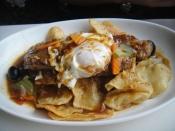 Bitoque a Portuguesa / 7oz Portuguese Steak Toped With egg and home sliced Potatoes