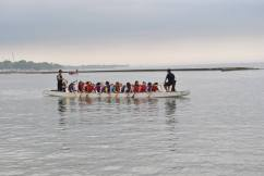 First time dragon boating!