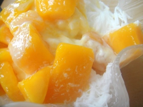 Mango shaved ice, March 2013